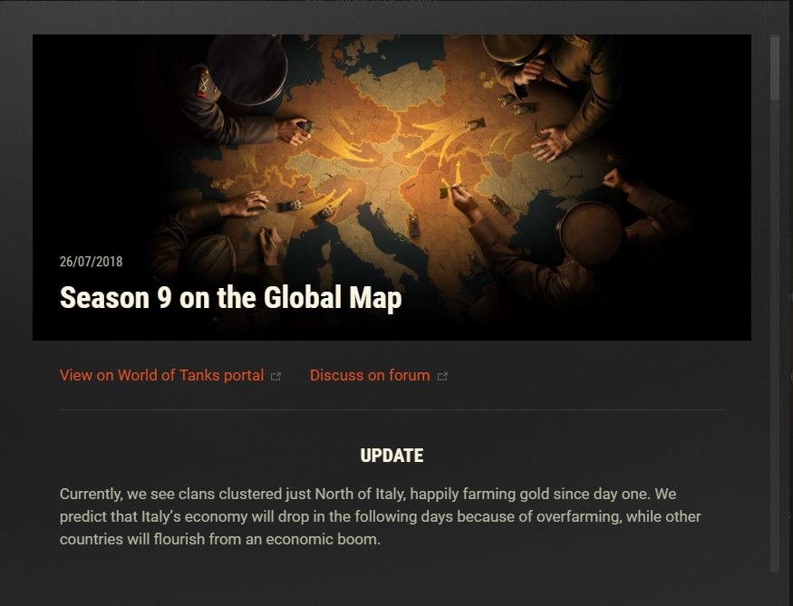 WoT - Season 9 On The Global Map - The Angry Ducks Clan Official Website